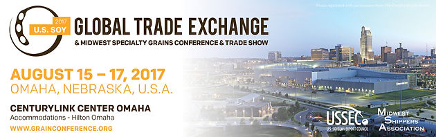 Latest News on the Global SOY & Grains Conference - Additional
