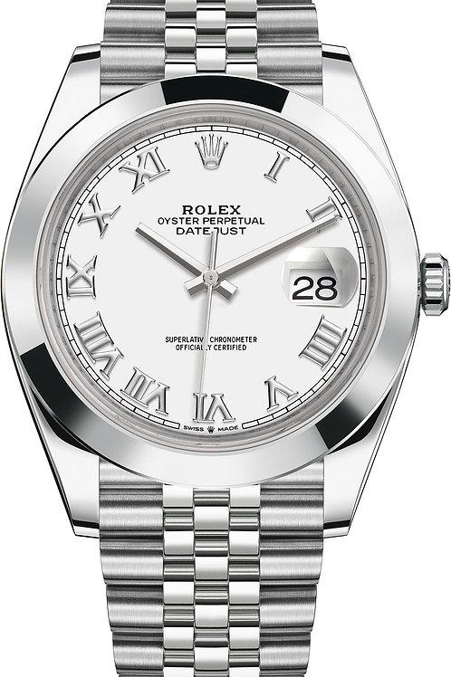 Rolex Datejust Roman Numeral 41mm Ref 126300