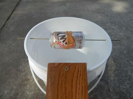 5-gallon bucket mousetrap