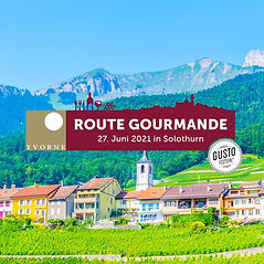 Schweiz _ Gustofestival Route Gourmande