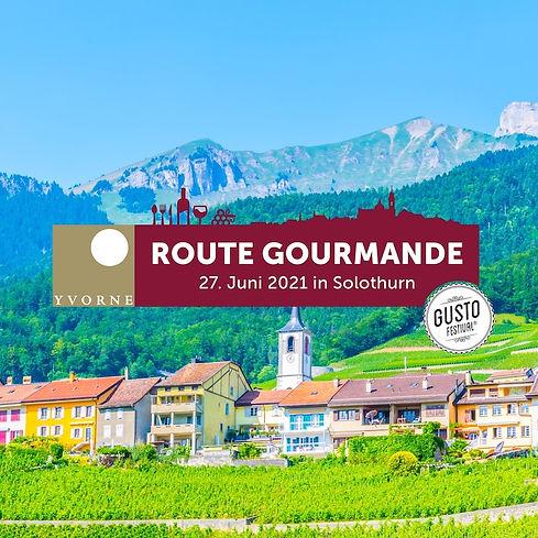 Schweiz | Gustofestival Route Gourmande