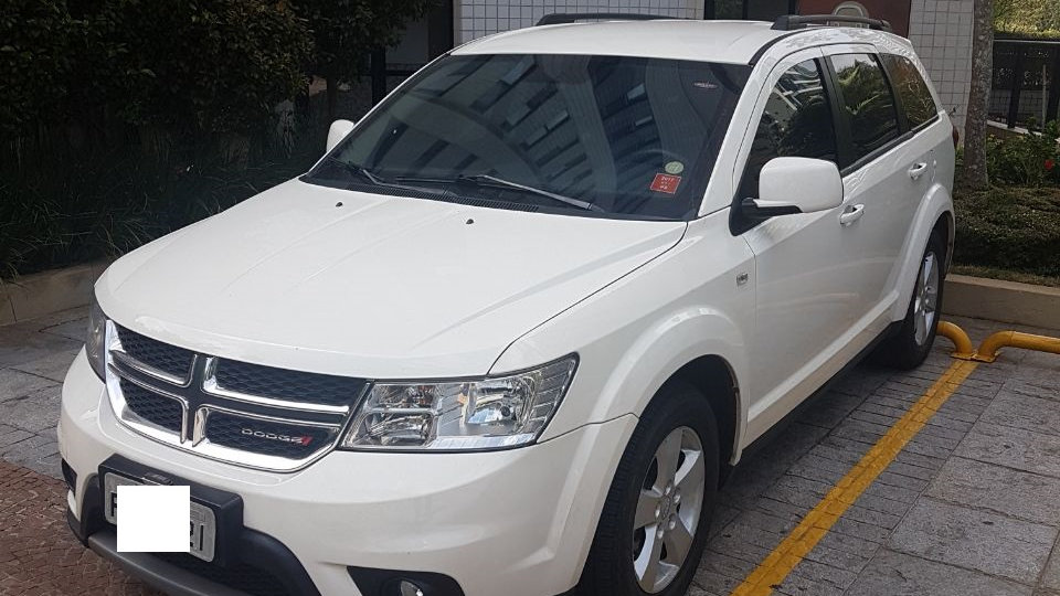 DODGE JOURNEY SXT 3.6 12/13 BLINDADO