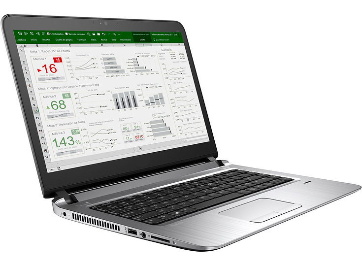 Excel BI Dashboard Web & Mobile
