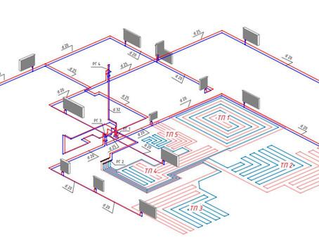 С чего начать строительство системы отопления дома?