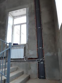 Монтаж отопления в офисном здании