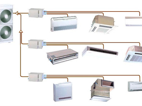 Системы кондиционирования: сплит, мультисплит и VRF системы. Отличия, преимущества и недостатки