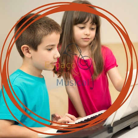 Aulas de musica para criancas