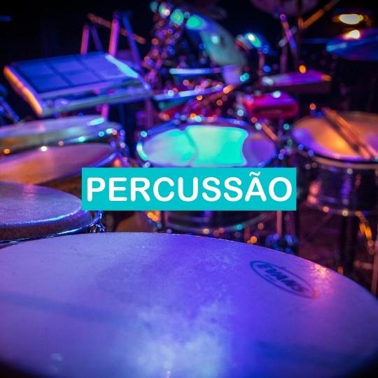 aulas de percussao