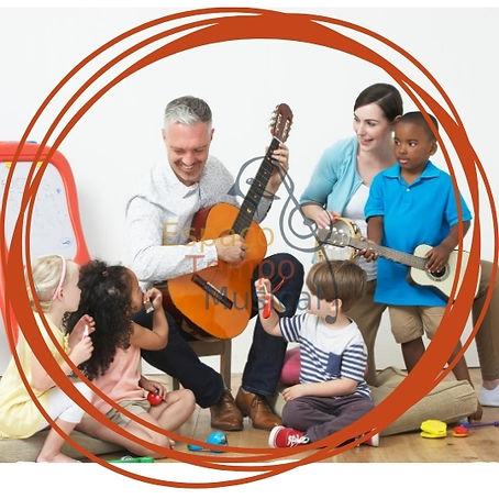 Aulas de musica para crianca