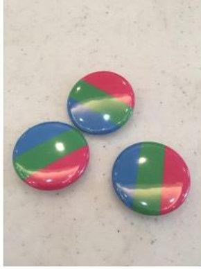 "Polysexual Button 1"""