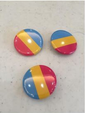 Pansexual Button 1""