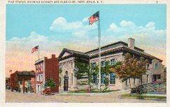Port Jervis, NY Carnegie library