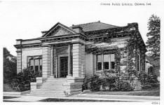 Clinton, IN Carnegie library