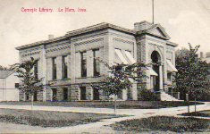 Le Mars, IA Carnegie library