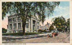 Middleborough, MA public library