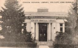 Stenson Memorial Library, Sea Cliff, Long Island, NY