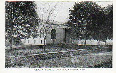 Crager Public Library, Colchester, CT