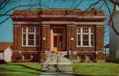 Newer image of the Brookville, IN Carnegie library