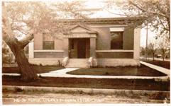 Sunnyside, WA Carnegie library, demolished in 1964