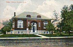 Downs, KS Carnegie library