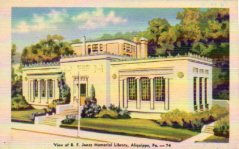 B.F. Jones Memorial Library, Aliquippa, PA