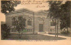 Warsaw, NY Carnegie library
