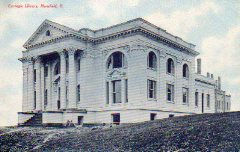Mansfield, OH Carnegie library