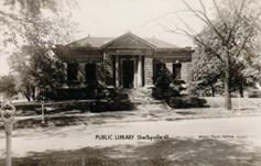 Shelbyville, IL Carnegie 'Type A' library building
