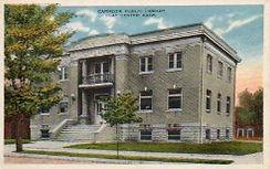 Clay Center, KS Carnegie library