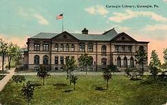 Carnegie, PA Carnegie library