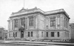 Springfield, IL Carnegie library, demolished