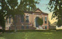 Indianola, IA Carnegie library