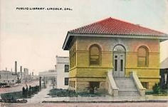 Lincoln, CA's Carnegie library