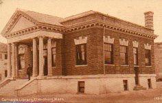 Ellensburg, WA Carnegie library, demolished.