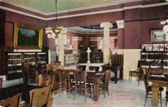 The reading room of Oshkosh Public Library