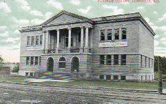 Janesville, WI Carnegie library