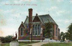 all Memorial Library, Tilton, NH