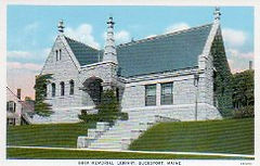 Buck Memorial Library of Bucksport, ME