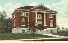 Independence, KS Carnegie library