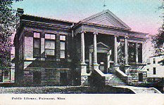 Fairmont, MN Carnegie library, demolished since
