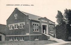 Boswell, Indiana Carnegie library
