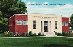 Sylacauga, Alabama library, built by the WPA.