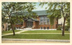 Jefferson, WI's Prairie school Carnegie library