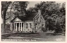 York Village, ME library