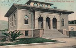 Los Gatos, CA Carnegie library