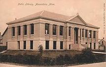 Alexandria, MN Carnegie library