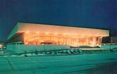Mid-century modern Floyd County Public Libray, of New Albany, IN