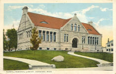 Morrill Memorial Library, Norwood, MA