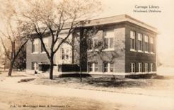 Woodward, OK Carnegie library