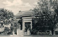 Thief River Falls, MN Carnegie library
